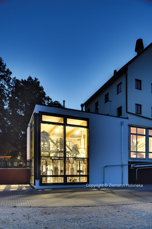 Schlossbrauerei Reckendorf, Sudhaus